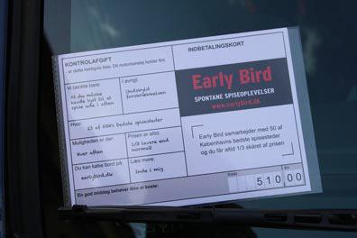 Earlybird.dk p-bøde