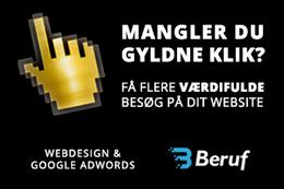 Beruf - Hjemmesider og Google AdWords