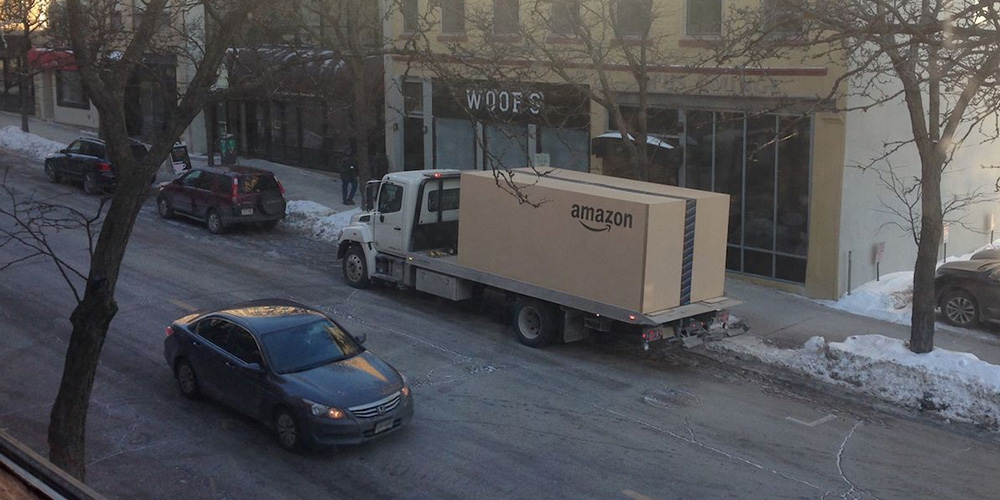 Verdens største Amazon pakke